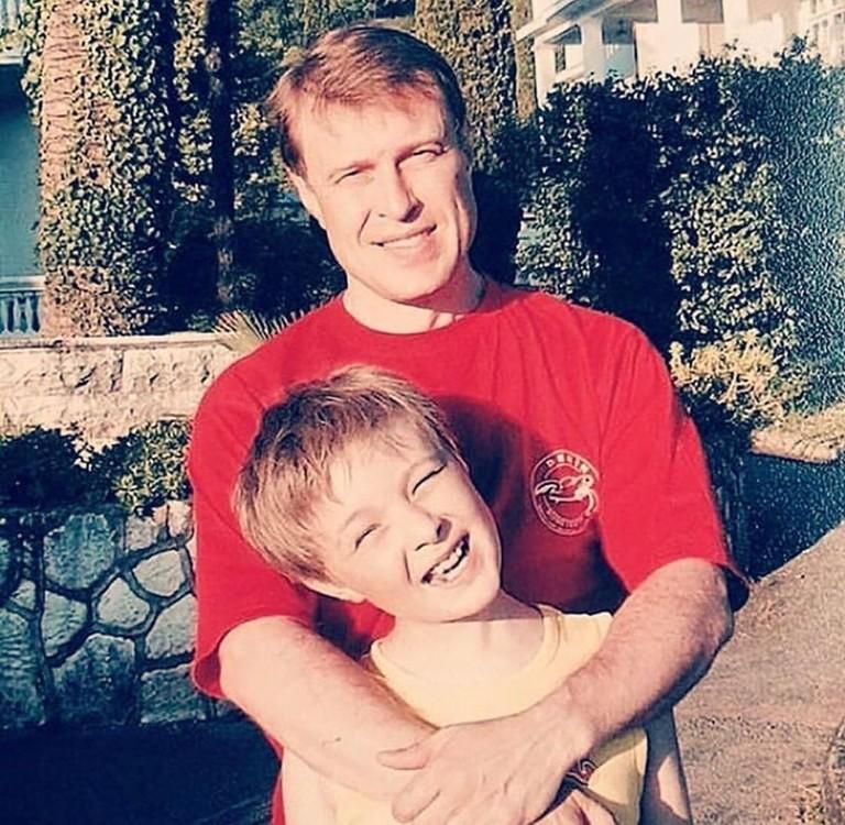 Егор Крид с отцом