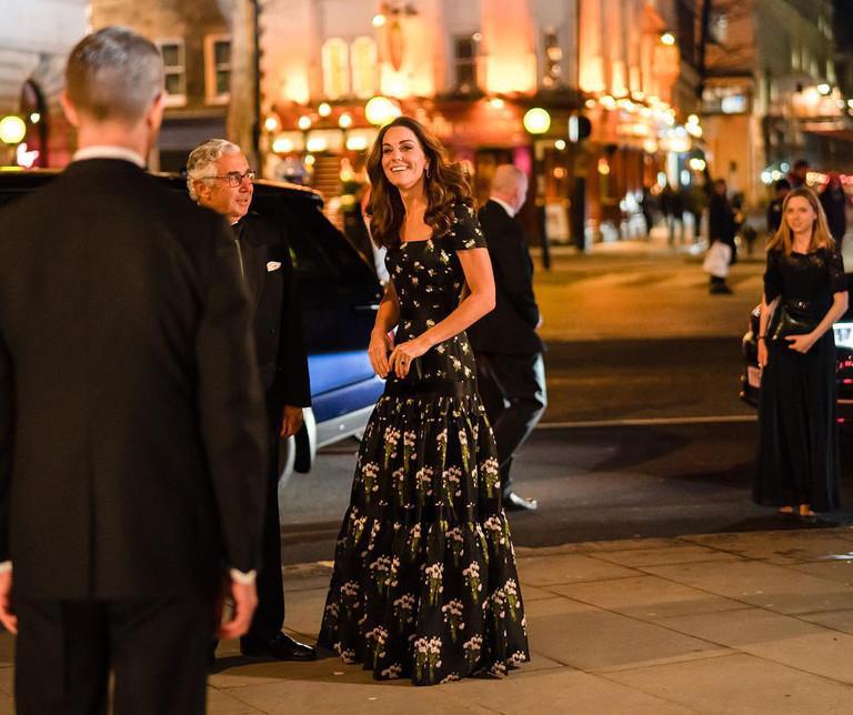 Кейт Миддлтон на Portrait Gala