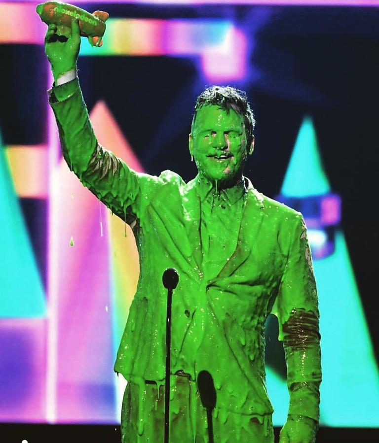 Крис Пратт на Kids' Choice Awards