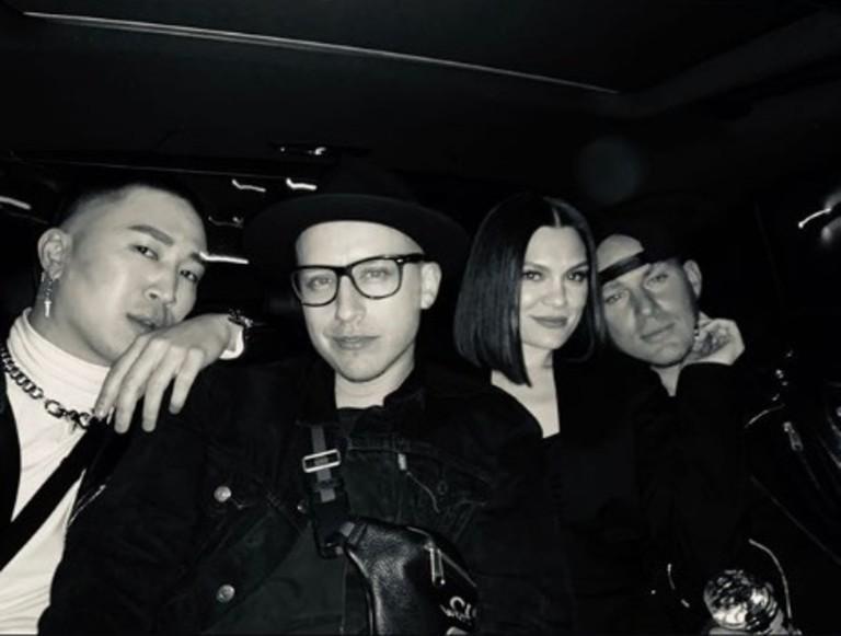 Джесси Джей и Ченнинг Татум с друзьями