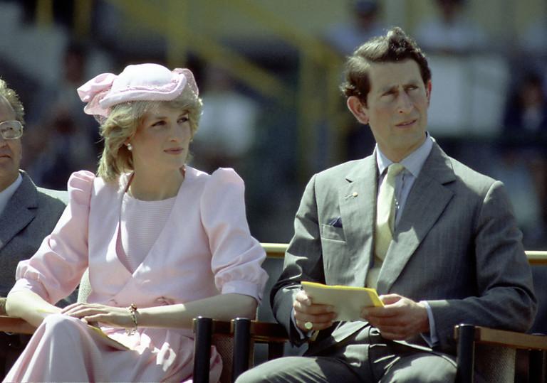 Принцесса Диана и принц Чарльз, 1983 год