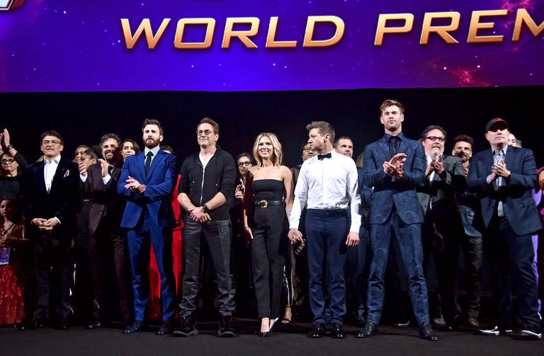 Команда фильма «Мстители. Финал»