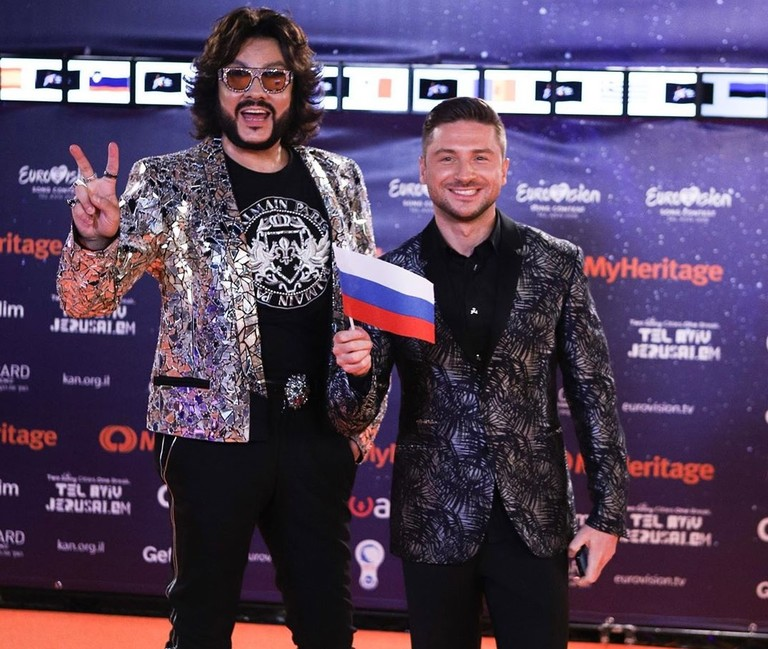Филипп Киркоров и Сергей Лазарев