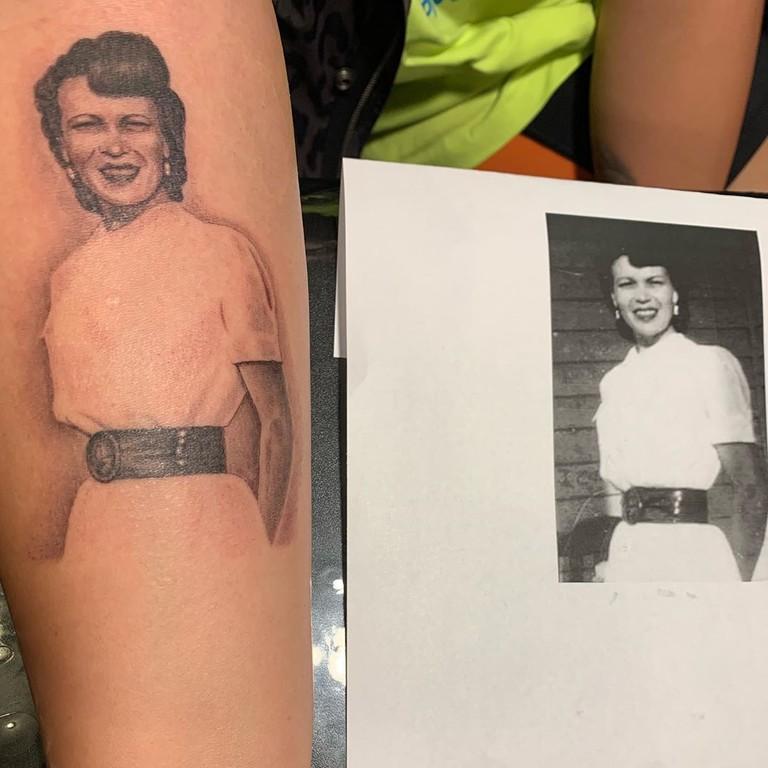 Новая татуировка Деми Ловаты