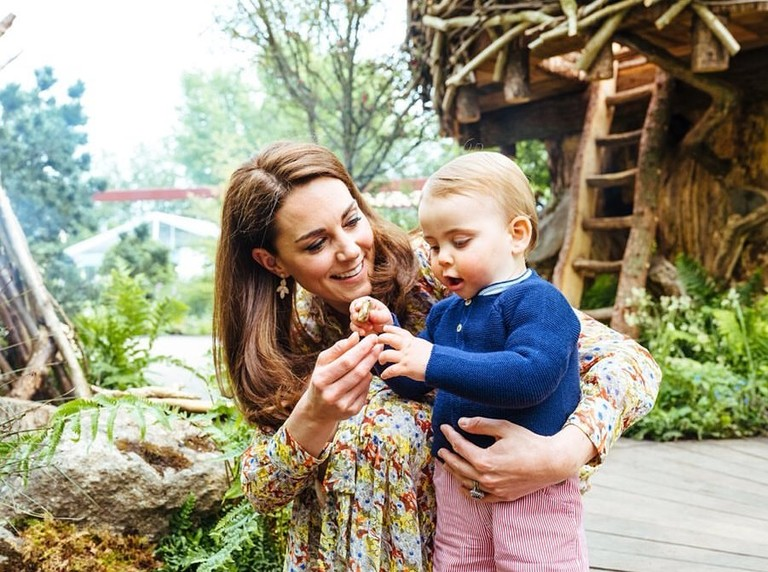 Кейт Миддлтон и принц Луи