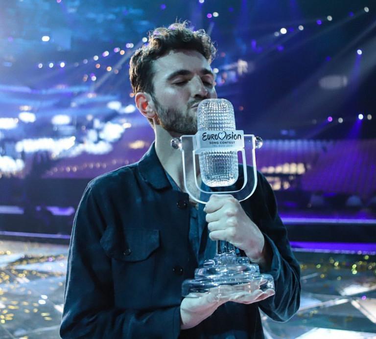 Победитель «Евровидения-2019» Дункан Лоуренс