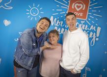 Александр Соколов, Валентина Мазунина и Антон Бурнышев