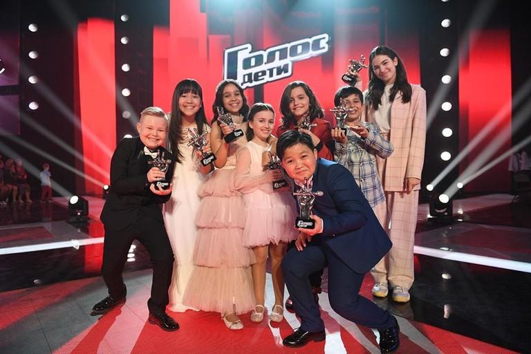 Победители шоу «Голос. Дети»
