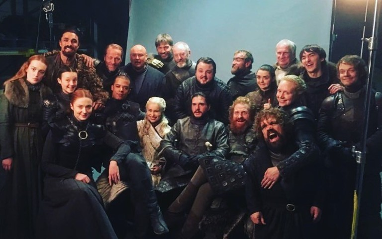 Актерская группа «Игры Престолов»