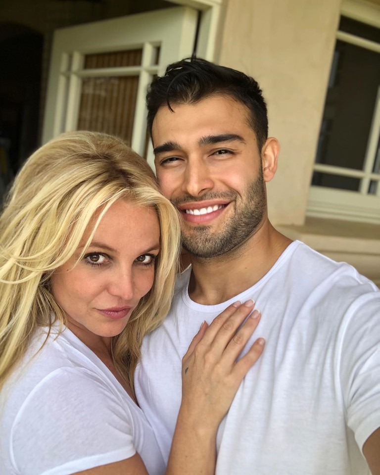 Бритни Спирс и Сэм Асгари