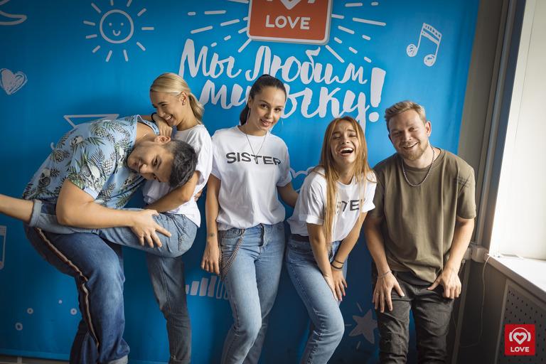SEREBRO и Красавцы Love Radio
