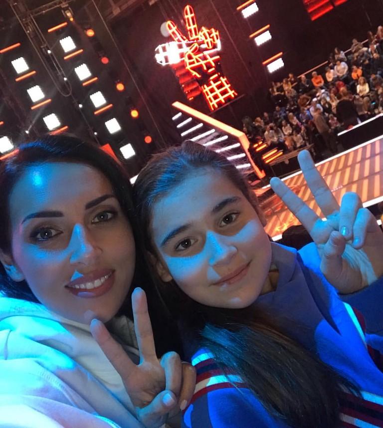 Алсу с дочкой Микеллой