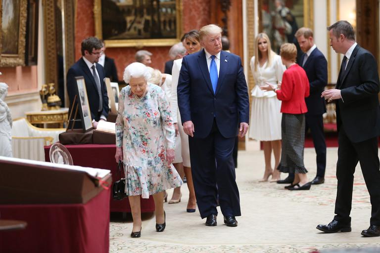 Визит Дональда Трампа в Букингемский дворец