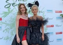 Наталья Водянова и Рита Ора