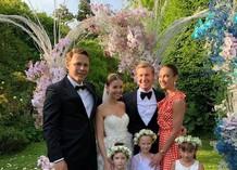 Ольга Бузова и Тимофей Майоров на свадьбе друзей