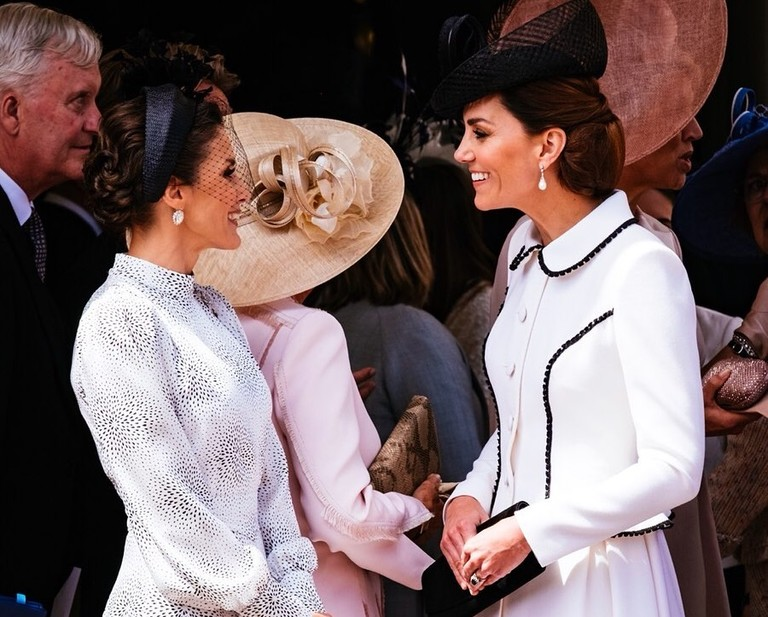Королева Летисия и Кейт Миддлтон