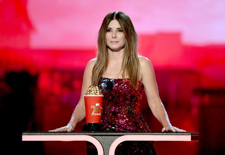 Сандра Баллок на премии MTV