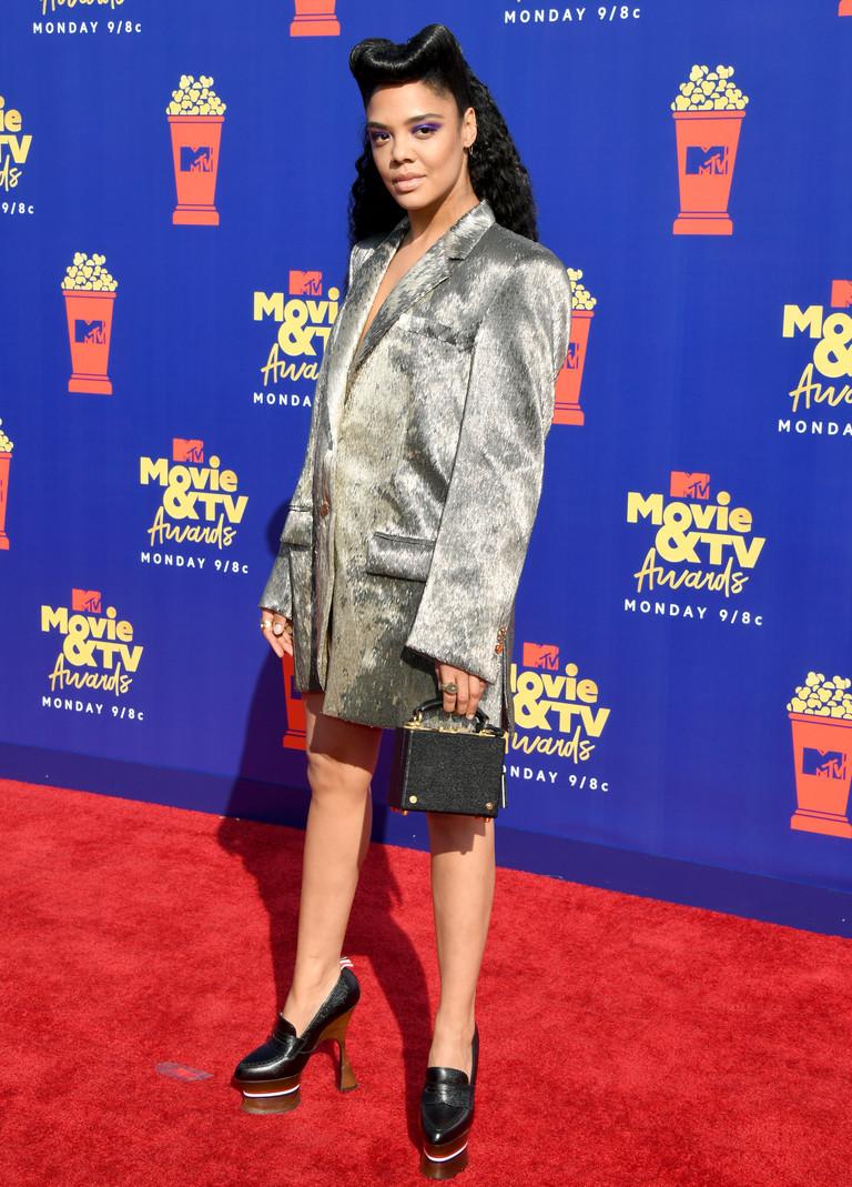 Тесса Томпсон на премии MTV
