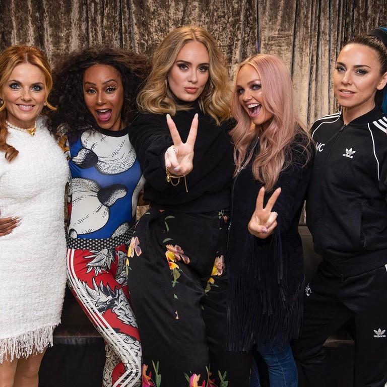 Адель и Spice Girls