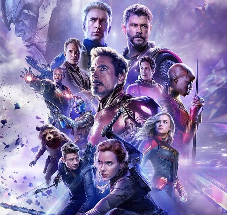 Постер фильма «Мстители. Финал»