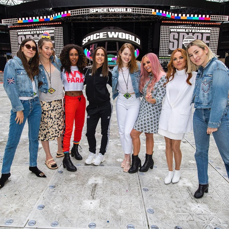 Эмма Стоун, Spice Girls и группа Haim