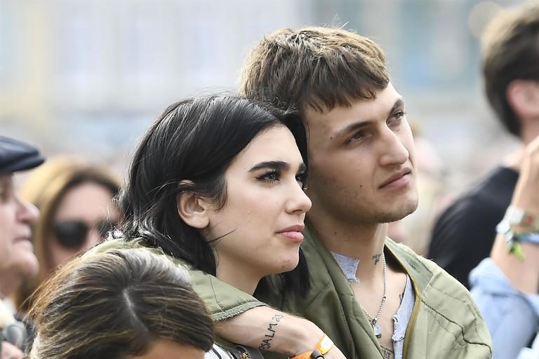 Дуа Липа и Анвар Хадид