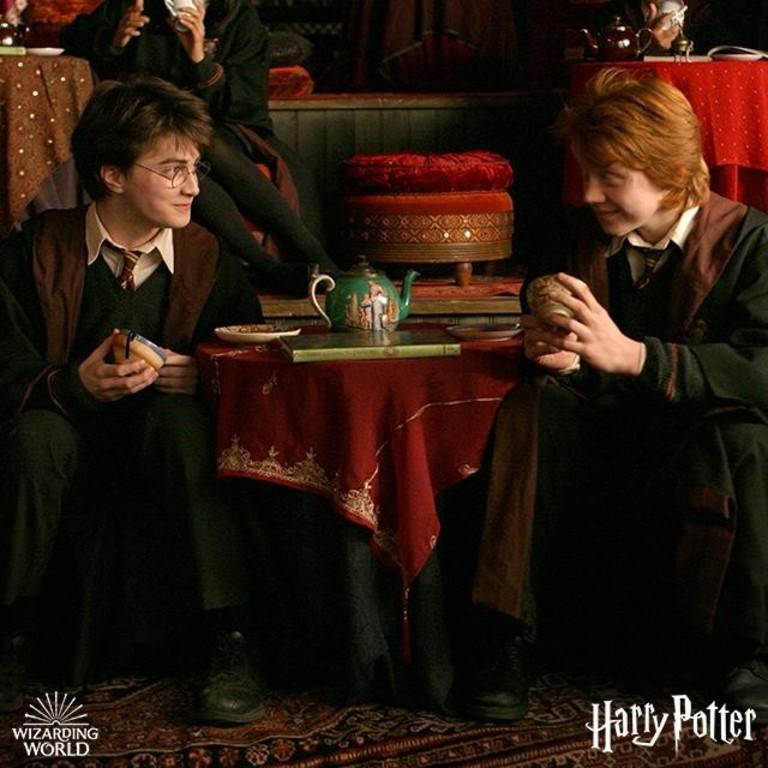 Кадр из фильма о Гарри Поттере