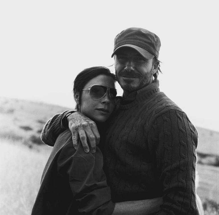 Виктория и Дэвид Бекхэм глазами Бруклина