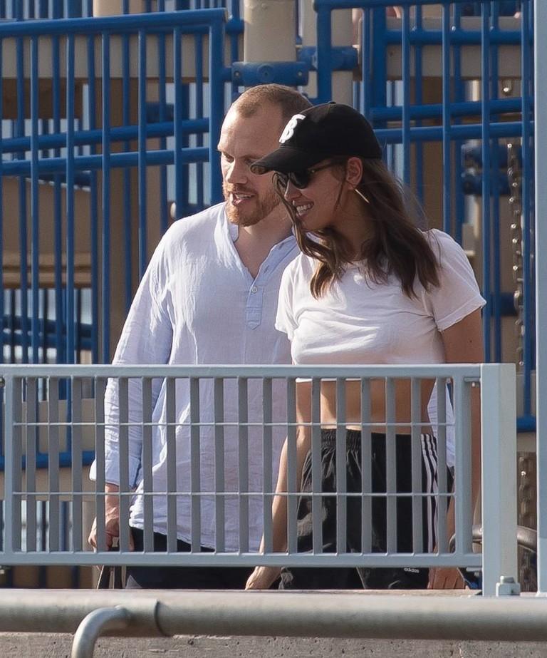 Алекс Максвелл и Ирина Шейк