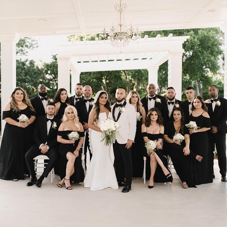 Селена Гомес на свадьбе кузины