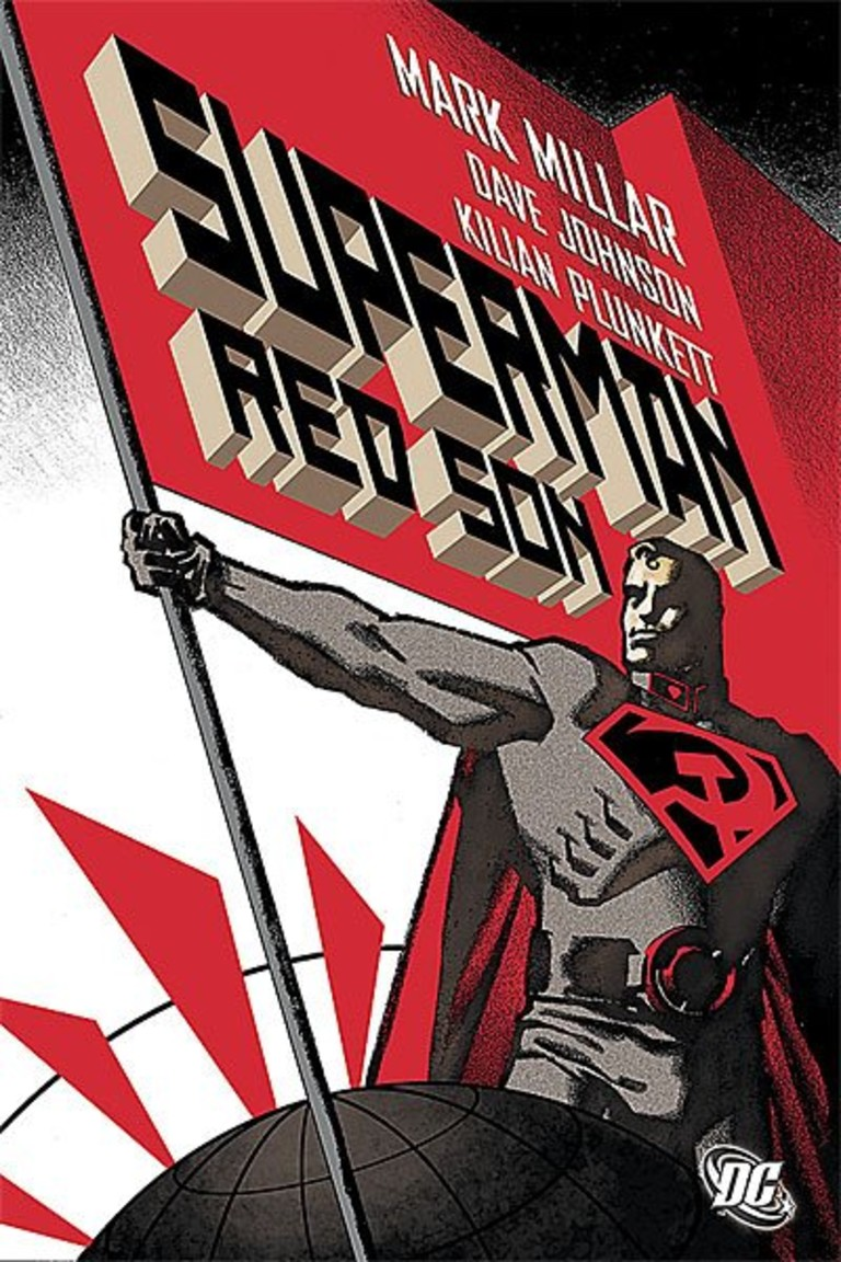 Обложка комикса «Супермен. Красный Сын»