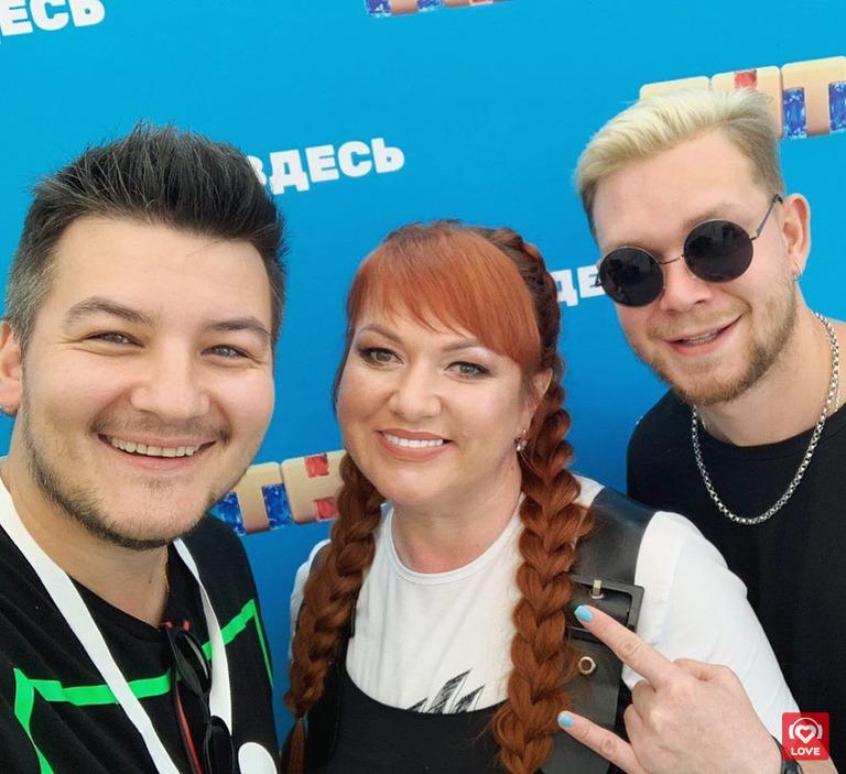 Александр Соколов, Ольга Картункова и Денис Курочкин