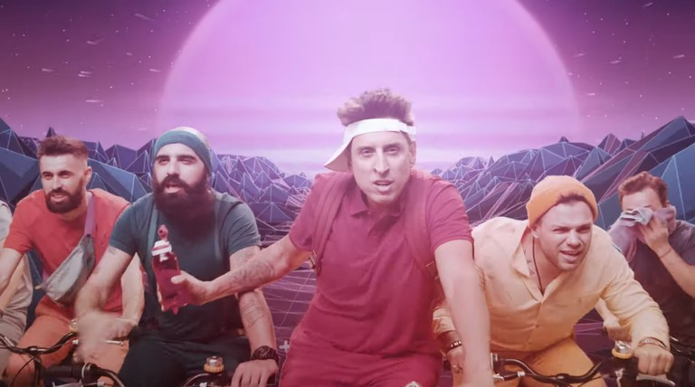 Кадр из клипа «Не уходи»