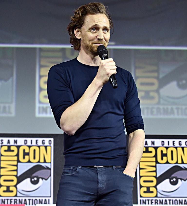 Том Хиддлстон на Comic-Con 2019