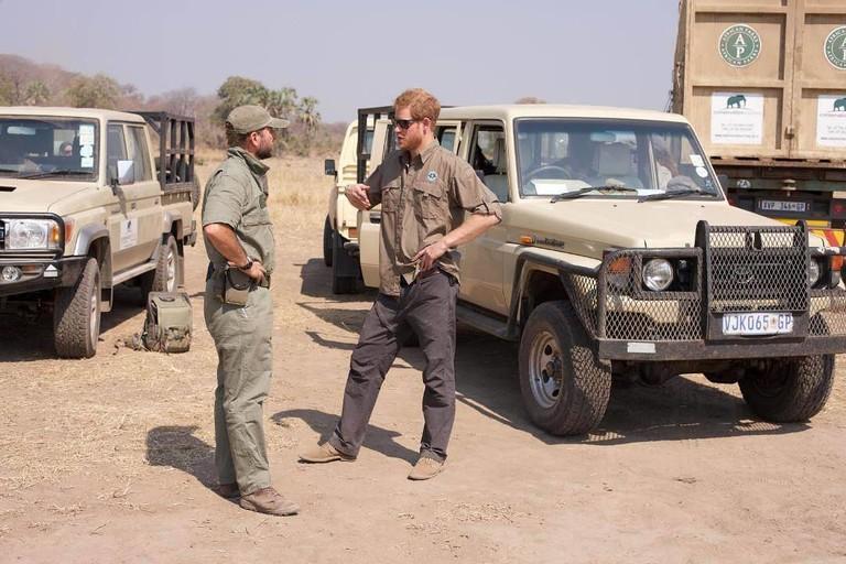Принц Гарри в ЮАР