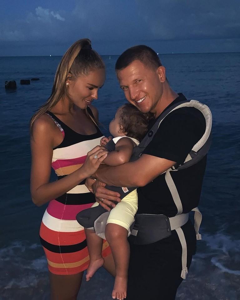 Ханна и Пашу с дочкой