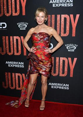Рене Зеллвегер на премьере «Джуди»