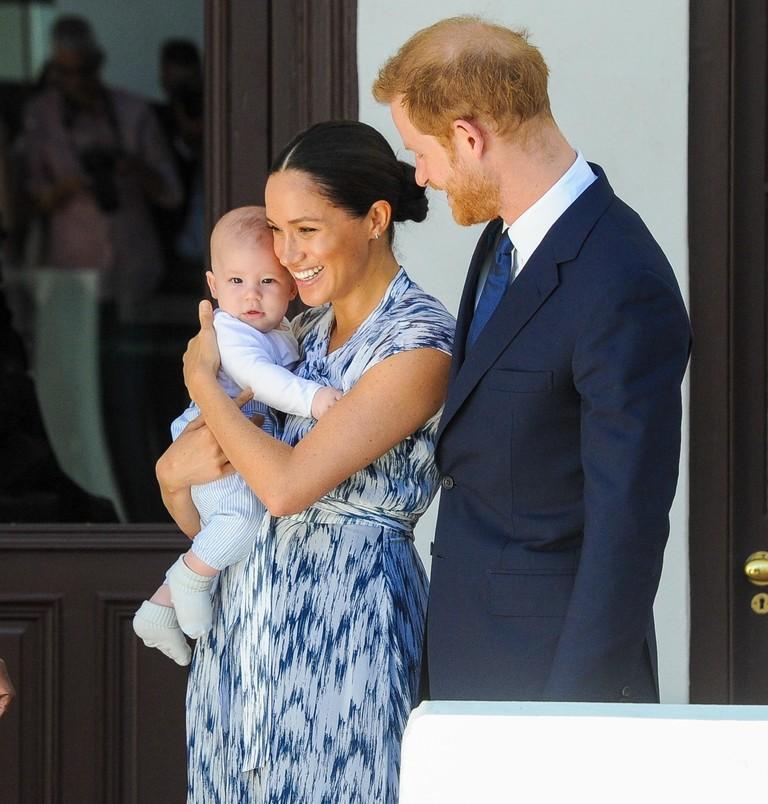 Принц Гарри, Меган Маркл и малыш Арчи в Африке