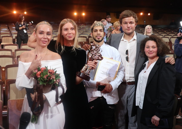 Команда AGENT SHOW на премии ТЭФИ-2019