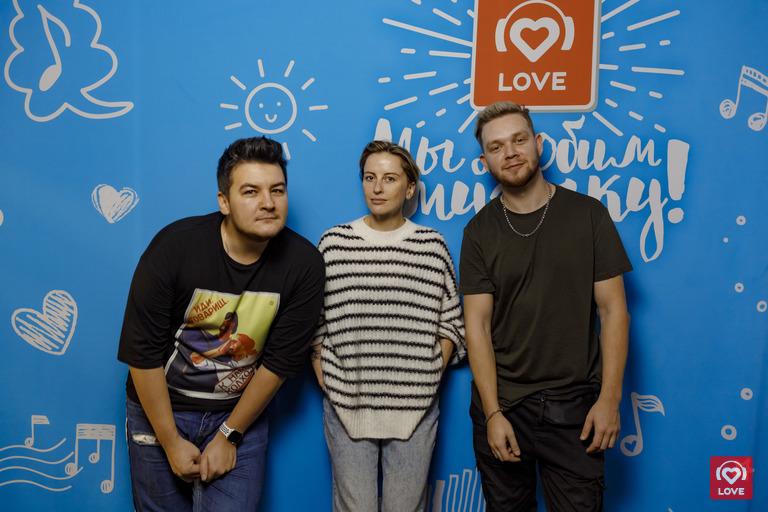 Красавцы Love Radio и Екатерина Решетникова