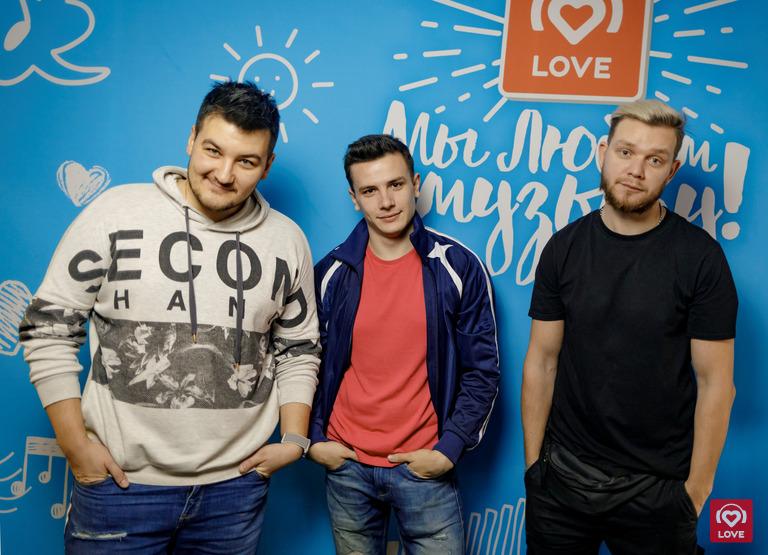 NЮ и Красавцы Love Radio