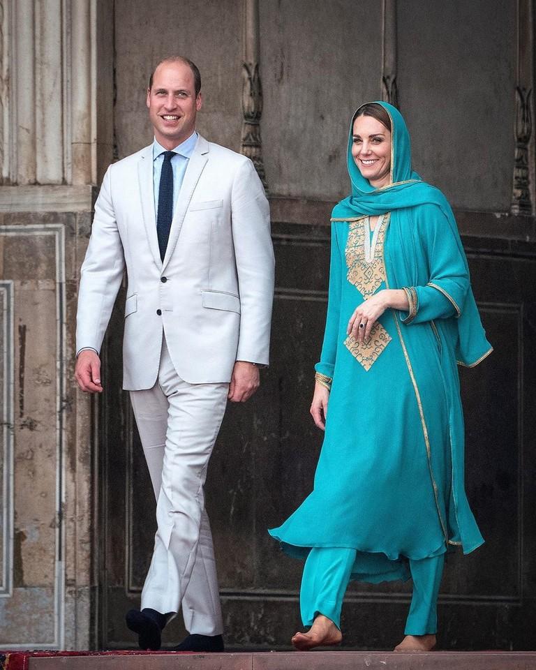 Принц Уильям и Кейт Миддлтон в Лахоре