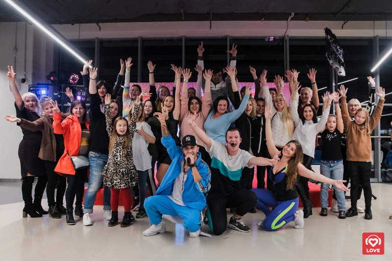 Мастер-класс Love Radio и школы танцев «Штеп»