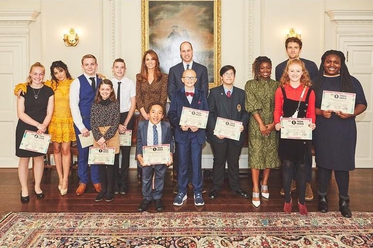 Торжественный прием в Кенсингтонском дворце