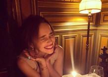 Эмилия Кларк отмечает день рождения
