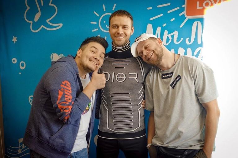 Макс Барских в гостях у Красавцев Love Radio