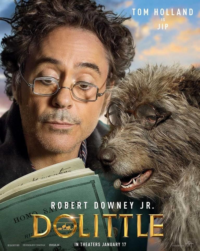 Постер фильма «Удивительное путешествие доктора Дулиттла»