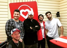 Красавцы Love Radio, JONY, Andro и El'man в Казани