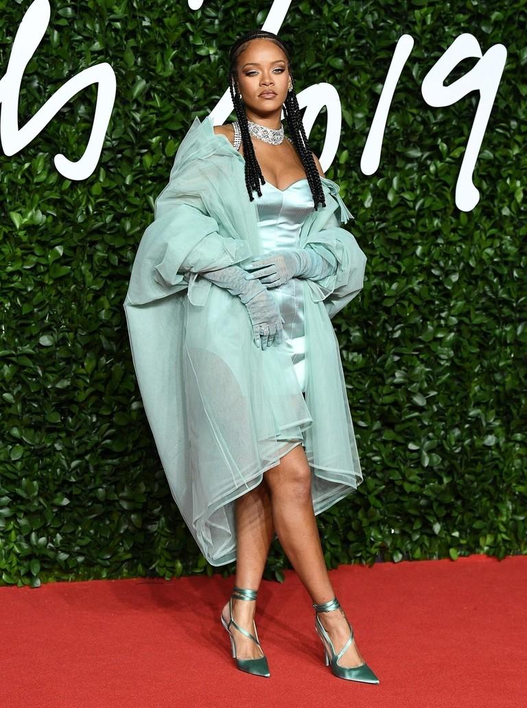 Рианна на British Fashion Awards