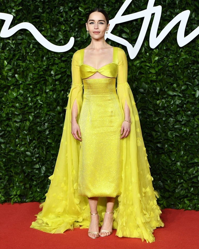 Эмилия Кларк на British Fashion Awards